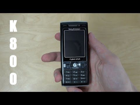 ЛАМПОВЫЙ обзор Sony Ericsson Cybershot k800i, топовая звонилка Aliexpress