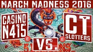 March Madness (Round 1 East) - 5 Dragons Slot Machine