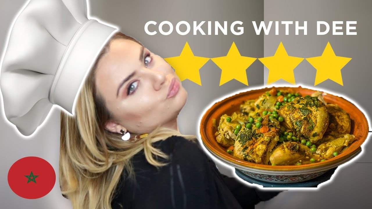 FIRST TIME COOKING CHICKEN TAGINE