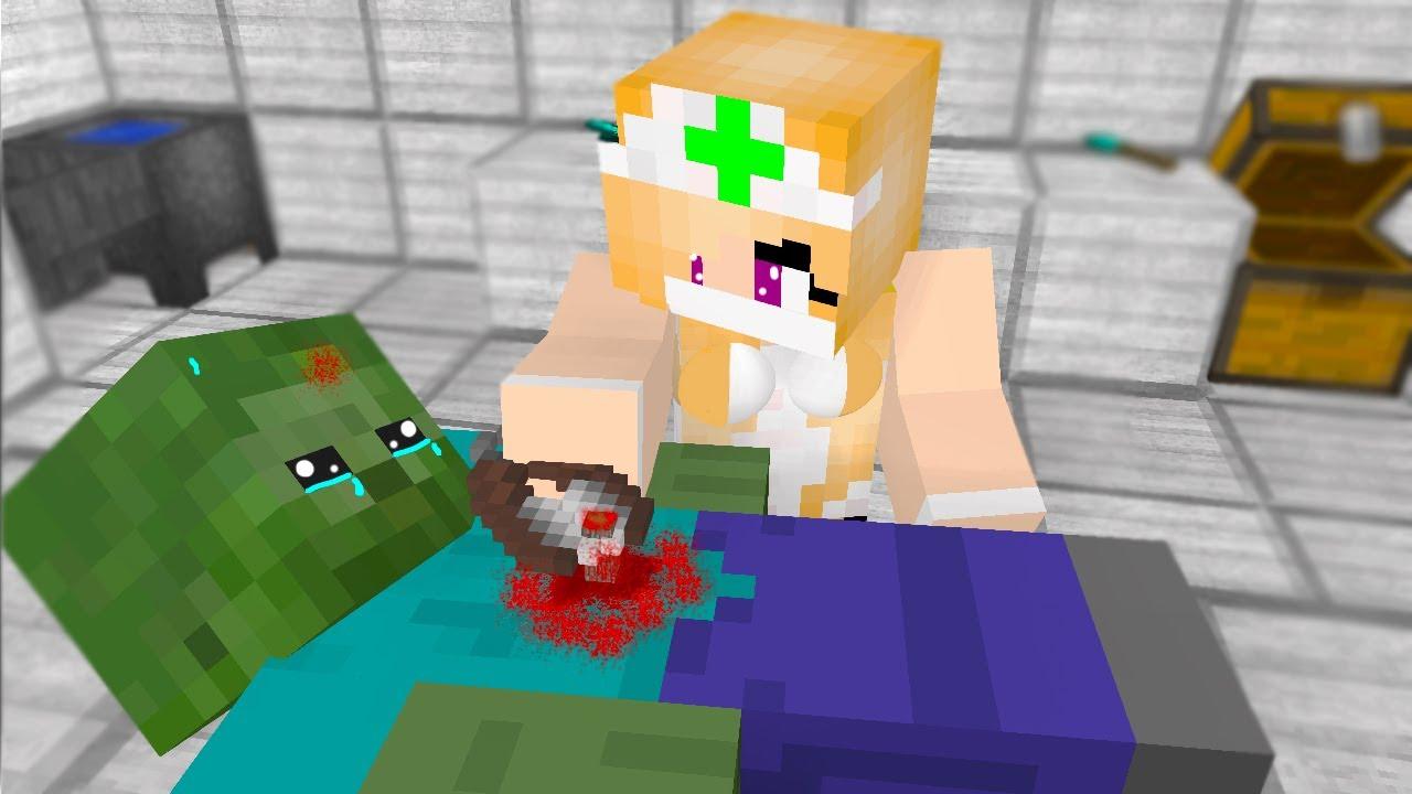 Minecraft Zombie Girl Life - Gambleh nn