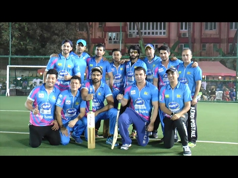 Mumbai Heroes Played  The First Match Of Tony Premiere League