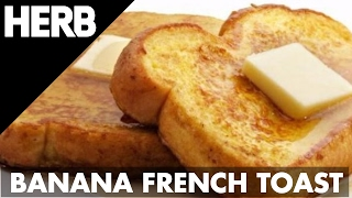 Cannabanana Bread French Toast