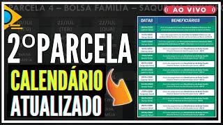 CALENDÁRIO DE SAQUE DA 2 PARCELA DO AUXILIO EMERGENCIAL 2021