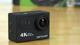 DBPOWER 4K Action Camera ... because why not?