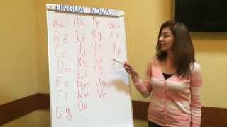 """""""Лингва Нова"""". Английский для начинающих - Урок 1. Алфавит."""
