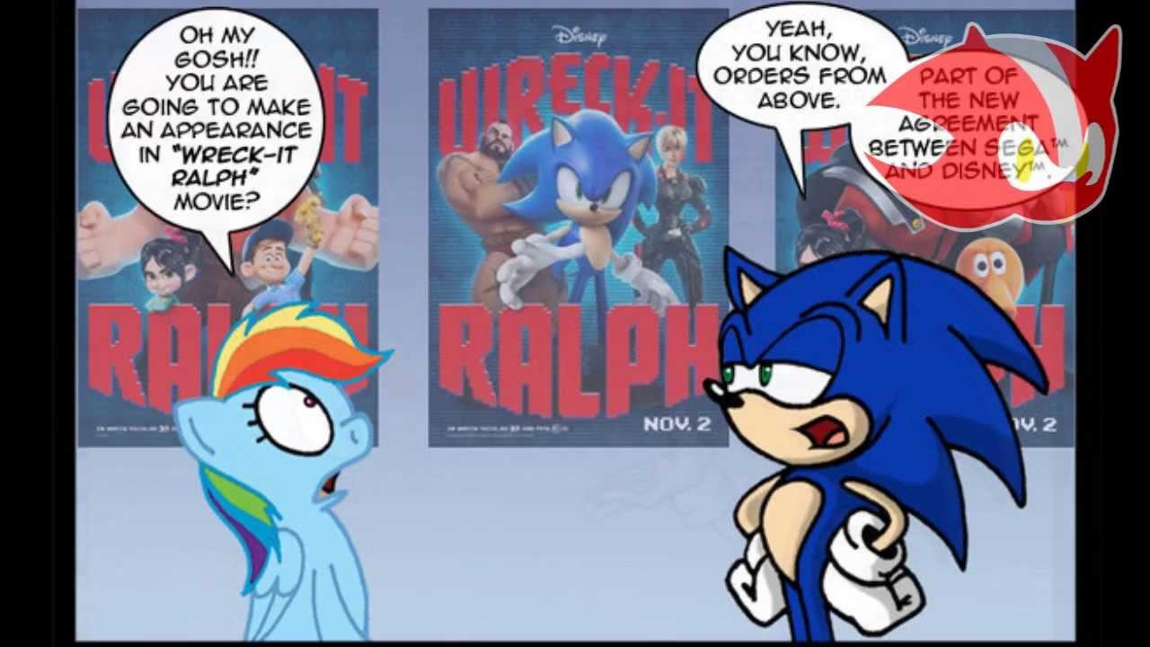 Rainbow Dash And Sonic
