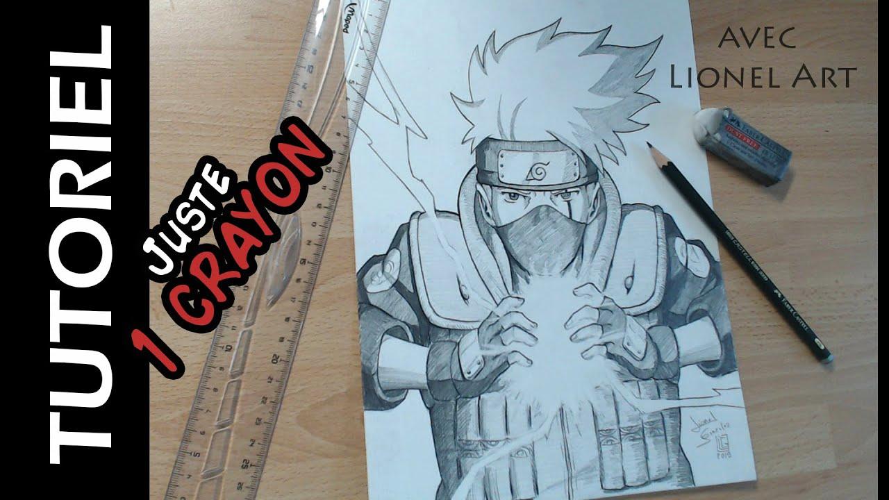 Comment Dessiner Kakashi Avec 1 Crayon Hb