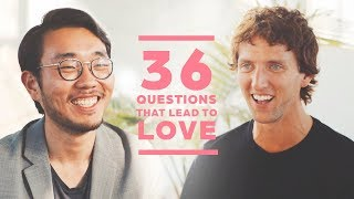Can 2 Strangers Fall in Love with 36 Questions? Andrew + Michael