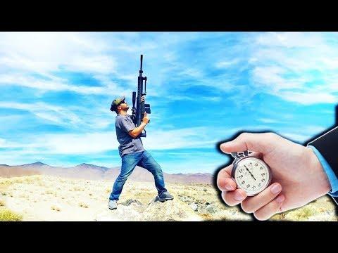 ماذا يحدث للرصاصة التي يتم إطلاقها في السماء؟ والى أين تذهب؟!