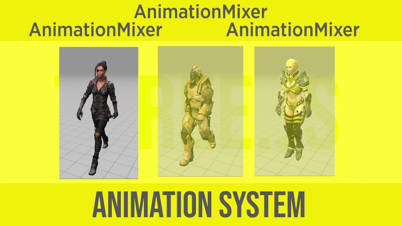 THREE js Animation System