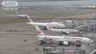国交省 パイロットにアルコール検査を義務付け(18/12/20) thumbnail
