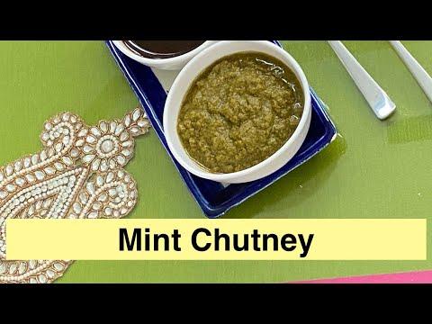 Mint Chutney Recipe With Showmethecurry Com