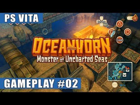Oceanhorn: Monster Of Uncharted Seas PS Vita Gameplay #2 (Bomb Island)