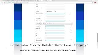 How to Apply for a Sri Lanka Business Visa