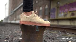 SNIPES | NIKE Air Force 1 Suede To Gum