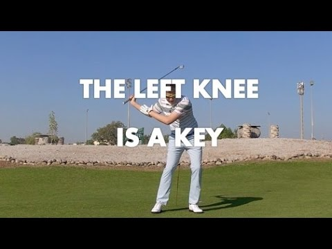 Golf Swing - Left Knee Movement is a Key
