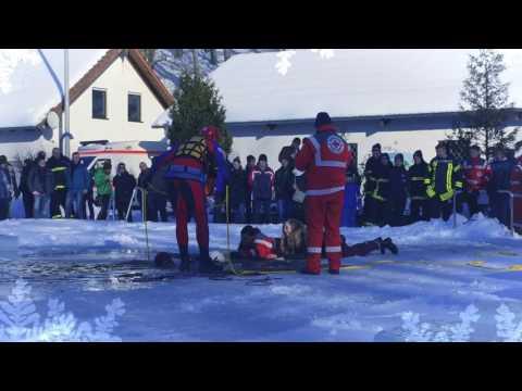 Eisrettung DRK Wasserwacht Döbeln-Hainichen & Feuerwehr