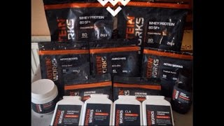 Biggest Supplement Purchase Yet - The Protein Works Re-Review