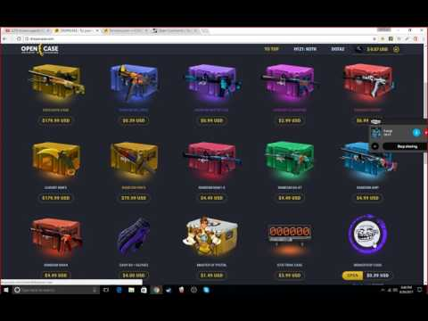 New Csgo Case Opening Site Scam Copy Of Farmskins 100% Scam
