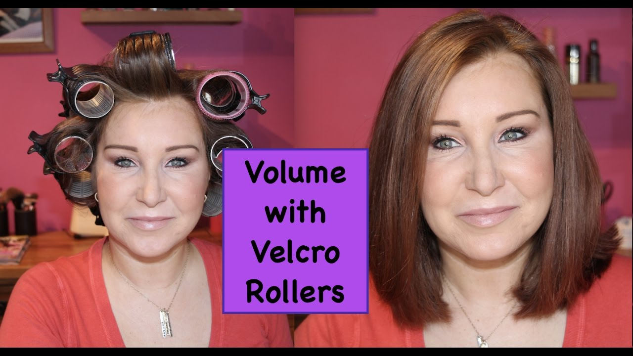 How To Use Velcro Rollers For Volume Youtube