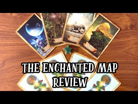 the-enchanted-map-oracle-cards-review-🗺🔑-honest-opinion-&-deck-flip-through