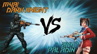 [CSO] M4A1 Dark Knight VERSUS AK47 Paladin