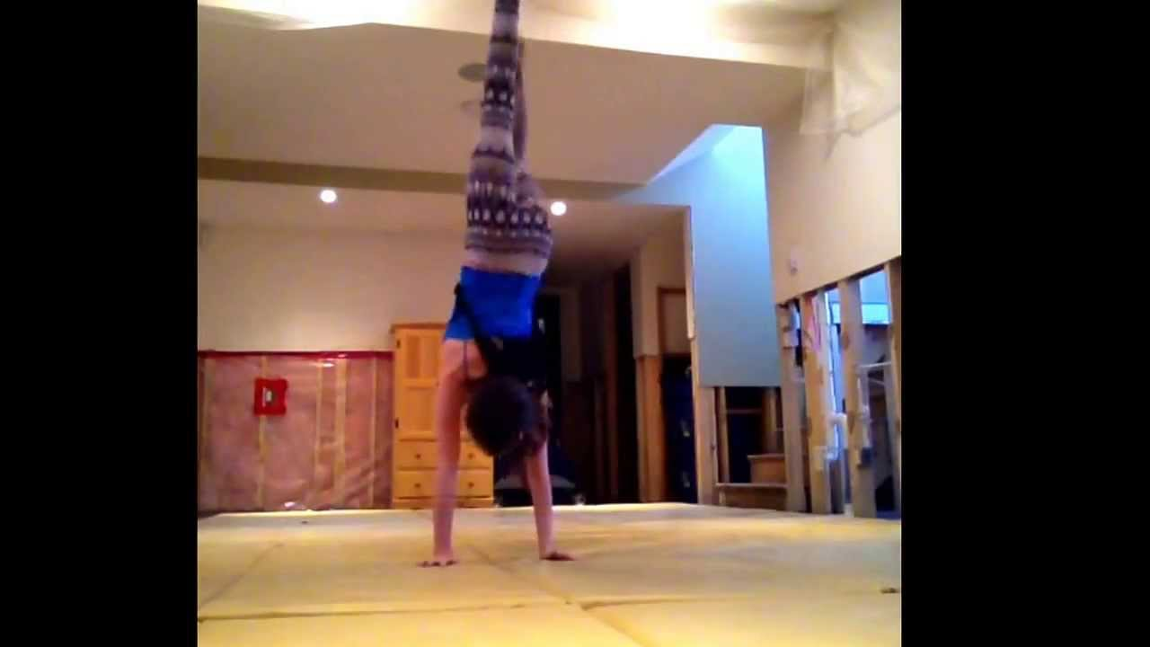 My gymnastics audition for seven gymnastics girls - YouTube