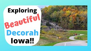 Yr 4: RV lİfe Decorah, Iowa, Pulpit Rock and a gem of a campground!