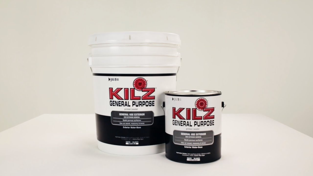 Kilz General Purpose Exterior Primer Product Information
