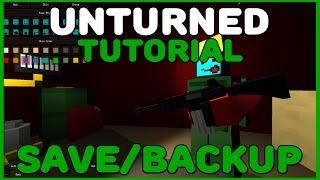 [Tutorial]Como fazer Save/Backup do seu Mundo de Unturned