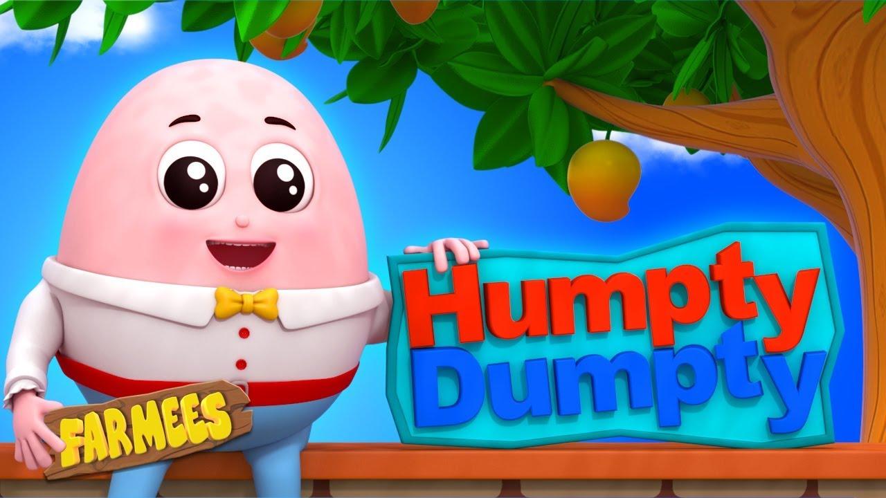Humpty Dumpty | Kindergarten Nursery Rhymes For Toddlers by Farmees