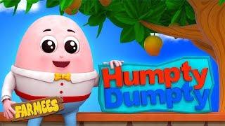 Humpty Dumpty   Kindergarten Nursery Rhymes For Toddlers by Farmees