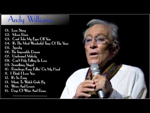 Andy Williams Greatest Hits | Top 25 Biggest Selling Singles