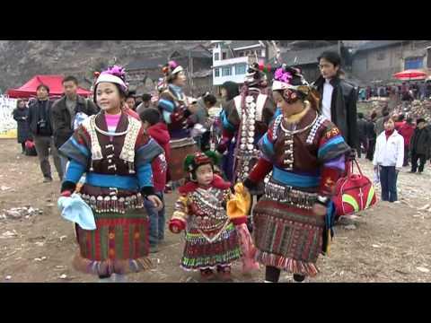 Global Vision China  Miao Lusheng Festival