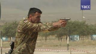 В Казахстане проходят соревнования  Снайперский рубеж