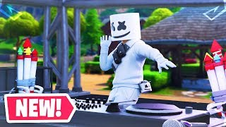 The Fortnite MARSHMELLO Concert Event Live Reaction..