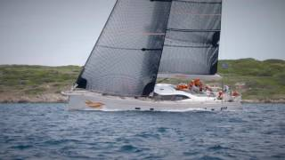 Oyster 885 Firebird at Loro Piana Superyacht Regatta 2016
