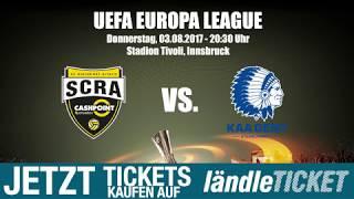 UEFA EUROPA LEAGUE - SCR Altach VS. KAA GENT