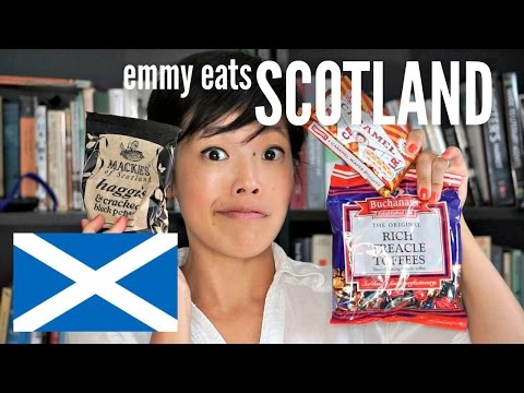 Emmy Eats Scotland - an American tasting Scottish sweets