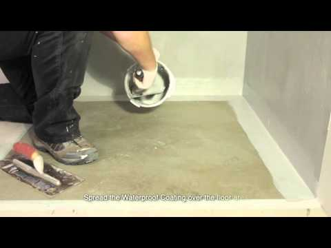How to Waterproof a Shower, Wet Room or Bathroom