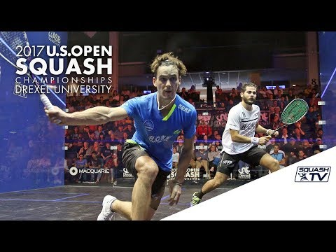 Squash: Men's Rd 1 Roundup Pt. 2 - U.S. Open 2017 Presented by MacQuarie Investment Management