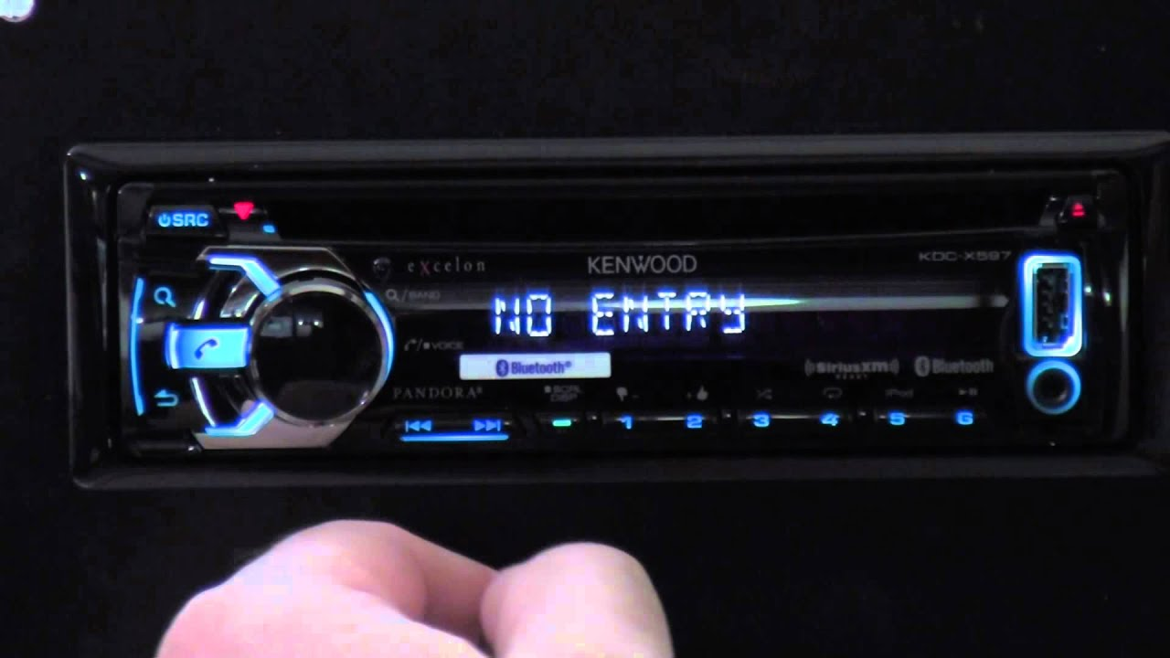 kenwood kdc x597 out of the box [ 1280 x 720 Pixel ]