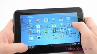 Видеообзор Samsung Galaxy Tab 2 7.0 P3100 от Video-shoper.ru(, 2012-07-03T12:00:30.000Z)