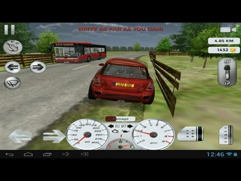 Real driving 3d android and ios gameplay gameplaytv for Motor city driving school