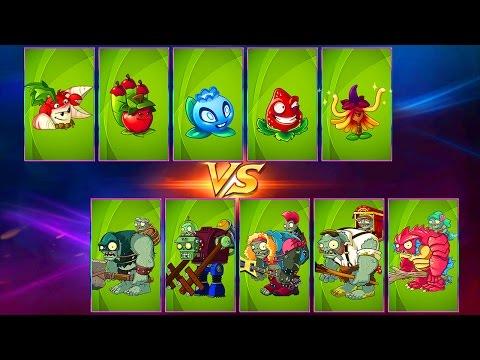 Every Premium Plant Power-Up vs Gargantuar in Plants vs Zombies 2
