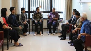 Jokowi Singgung Kesehatan Ani Yudhoyono Usai Bagi Sertifikat Gratis