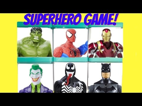 GAME  - Surprise Toy Blind Boxes Batman Hulk Disk Drop