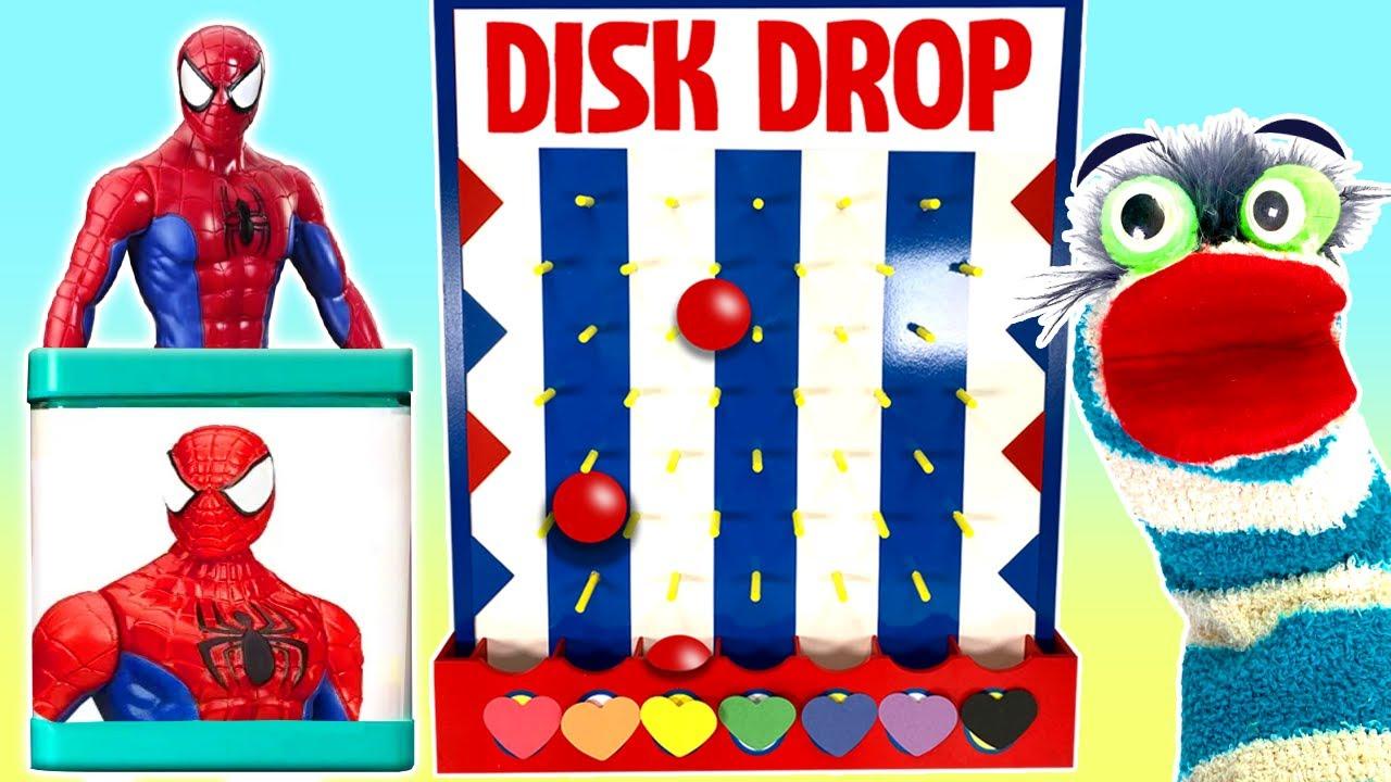 Download Fizzy Plays Superhero Game Disk Drop
