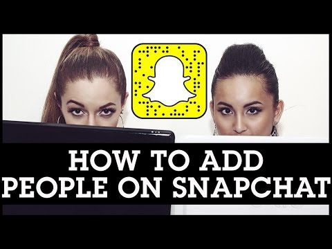 How to add friends on snapchat by scanning