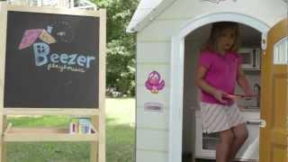 Fold-up Cardboard Playhouse With A Twist